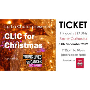 CLIC for Christmas 2019 - ticket